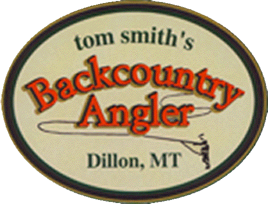 Logo for Tom Smith's Backcountry Angler